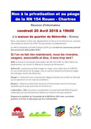 TRACT reunion du 20 avril 2018 à Évreux