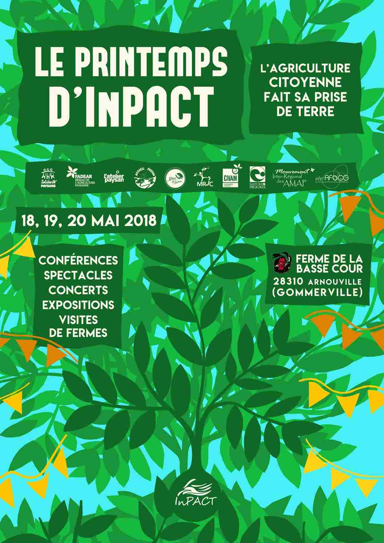 Affiche Printemps InPACT 2018 Gommerville