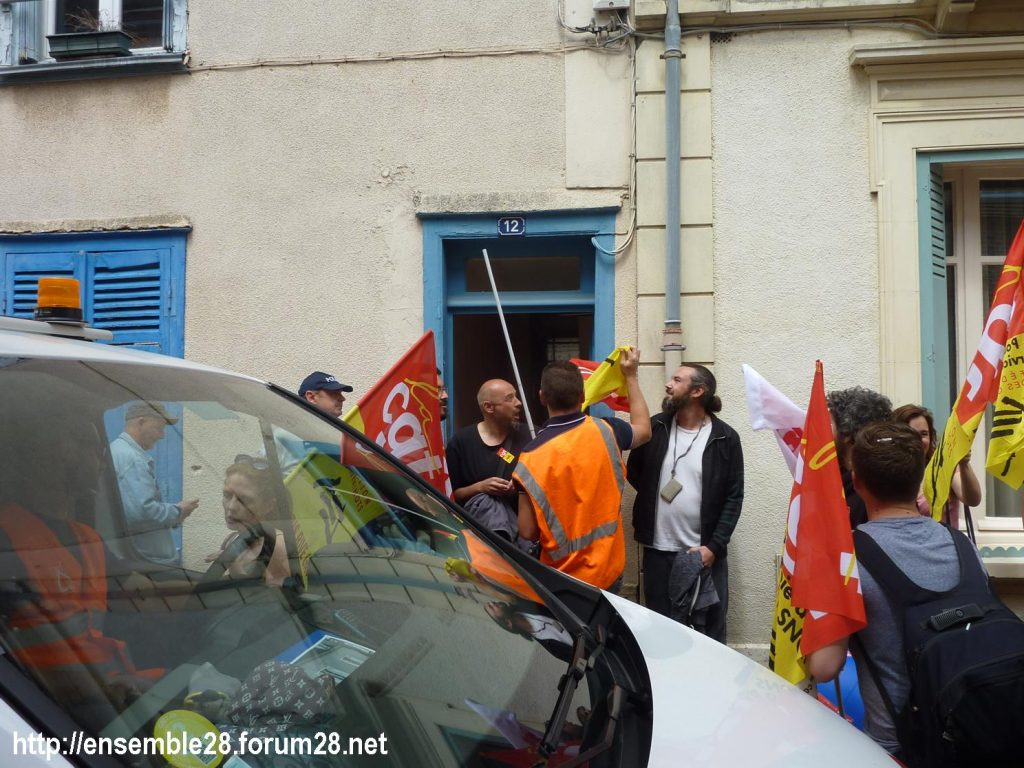 Chartres 18-06-2018 Manifestation CGT Cheminots 06