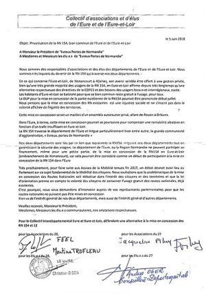 Lettre aux Portes Normandes