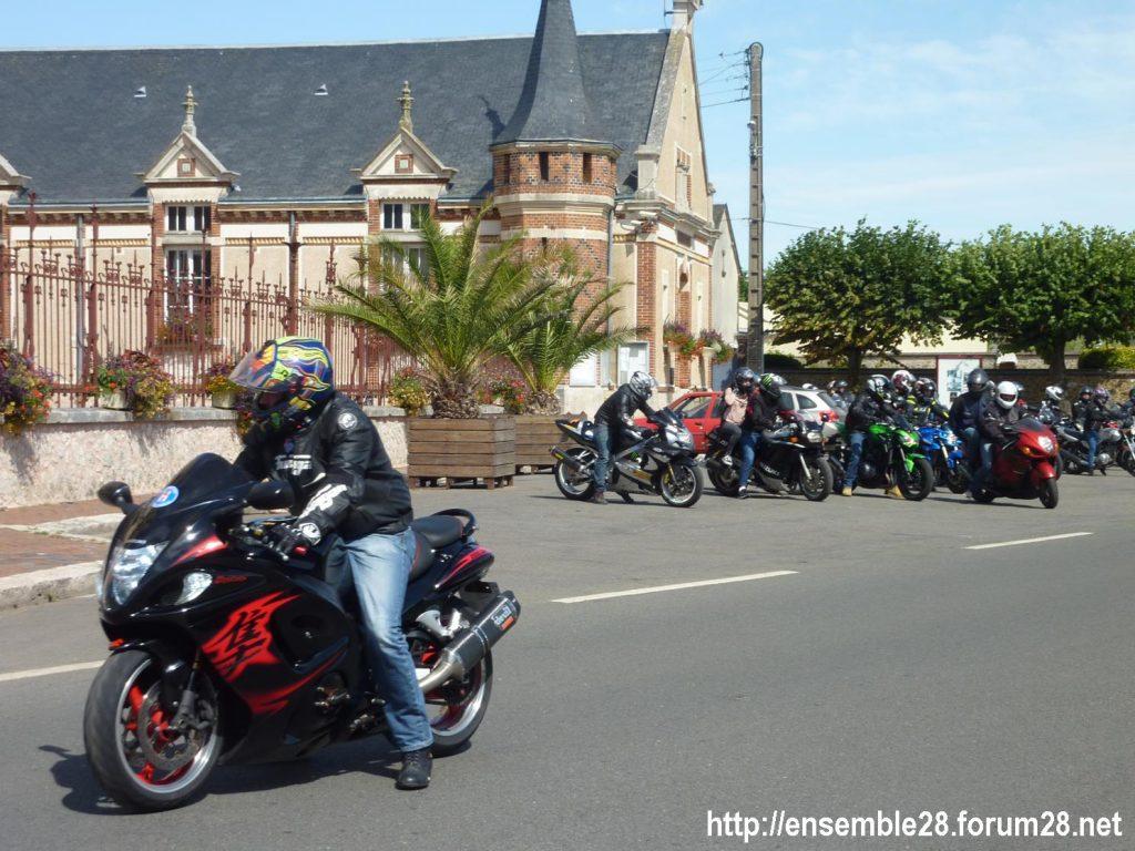 28-07-2018 Châteaudun Maternité Randonnée Moto 11