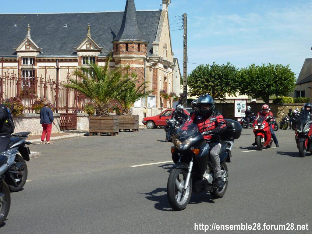 28-07-2018 Châteaudun Maternité Randonnée Moto 13