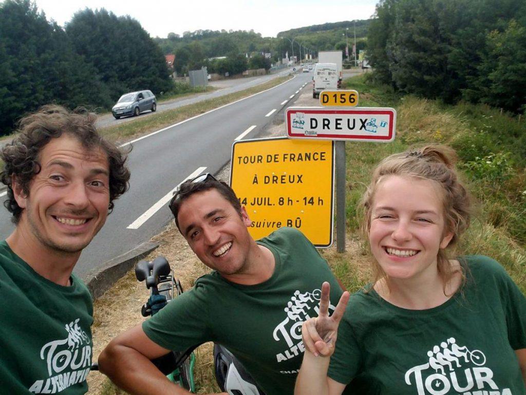 Alternatiba 2018 Dreux Tour de France Amélie et XX et YY
