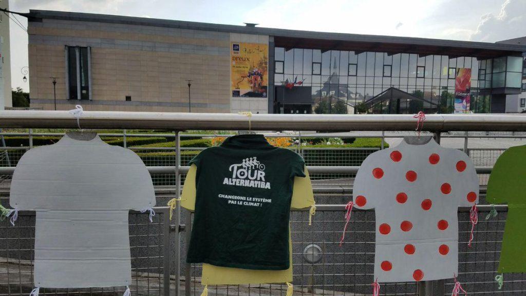 Alternatiba 2018 Dreux Tour de France Odyssée Maillots