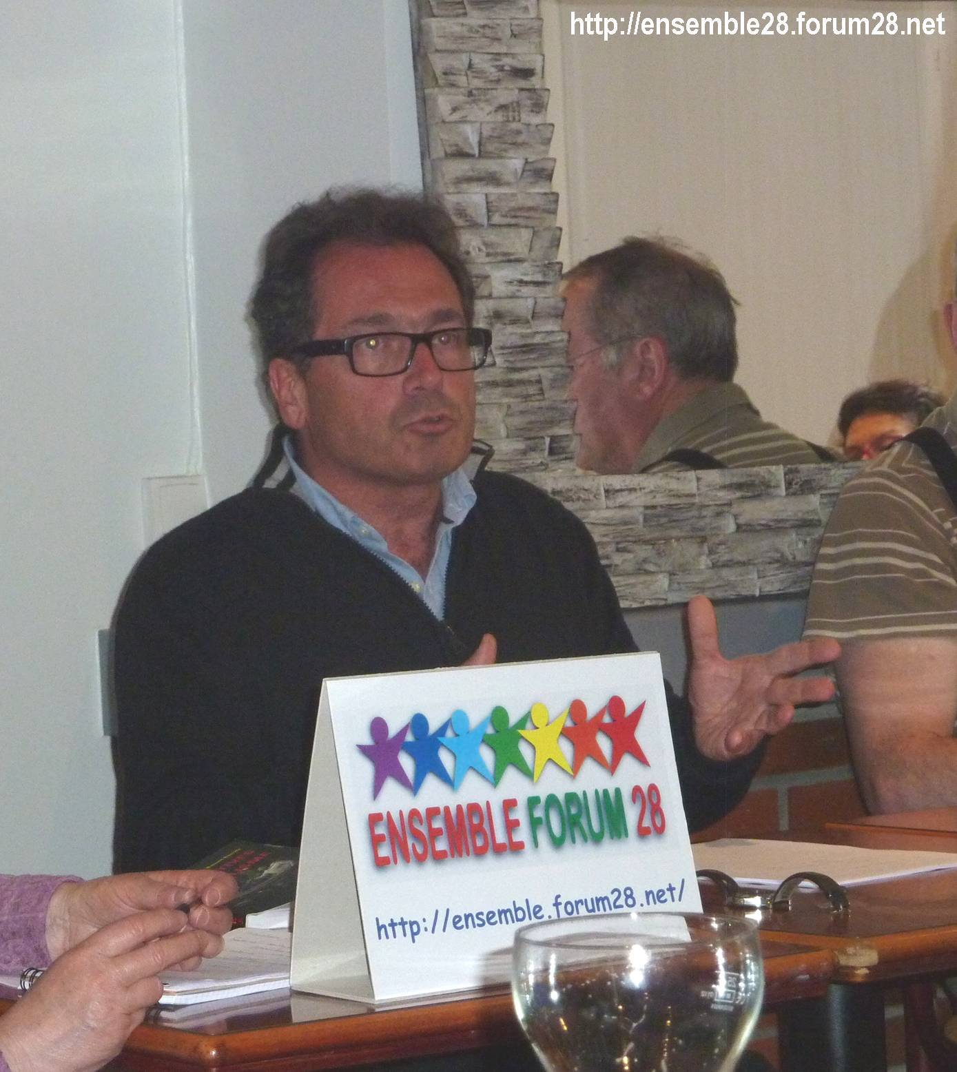Benoît Borrits Café-débat E!28 Chartres 2016
