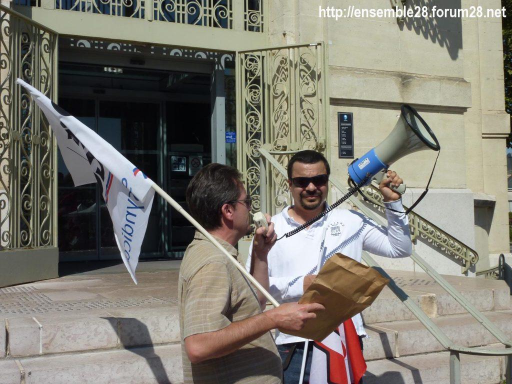 Chartres Médiathèque Apostrophe 02-09-2018 Rassemblement Intersyndicale 7