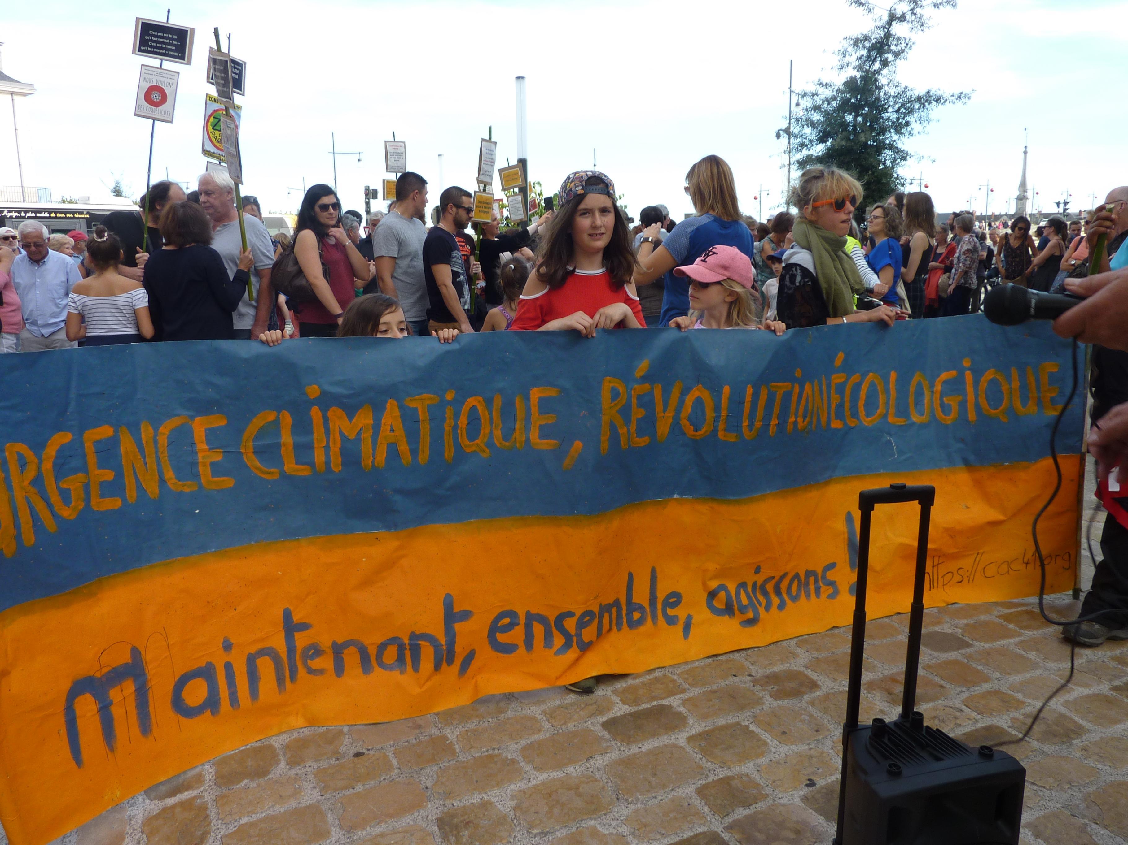 Blois 13-10-2018 Manifestation Urgence-climatique 01