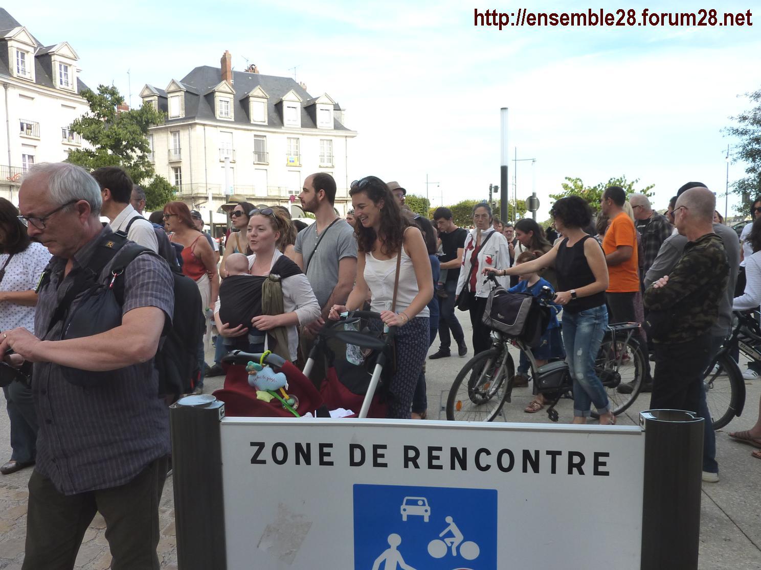 Blois 13-10-2018 Manifestation Urgence-climatique 03