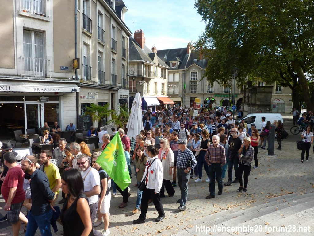 Blois 13-10-2018 Manifestation Urgence-climatique 07