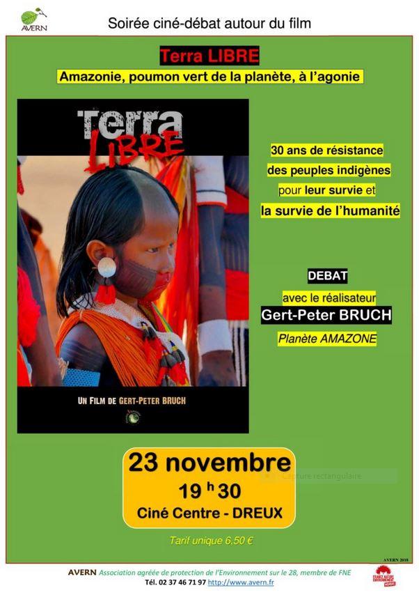 Terra Libre AVERN Affiche