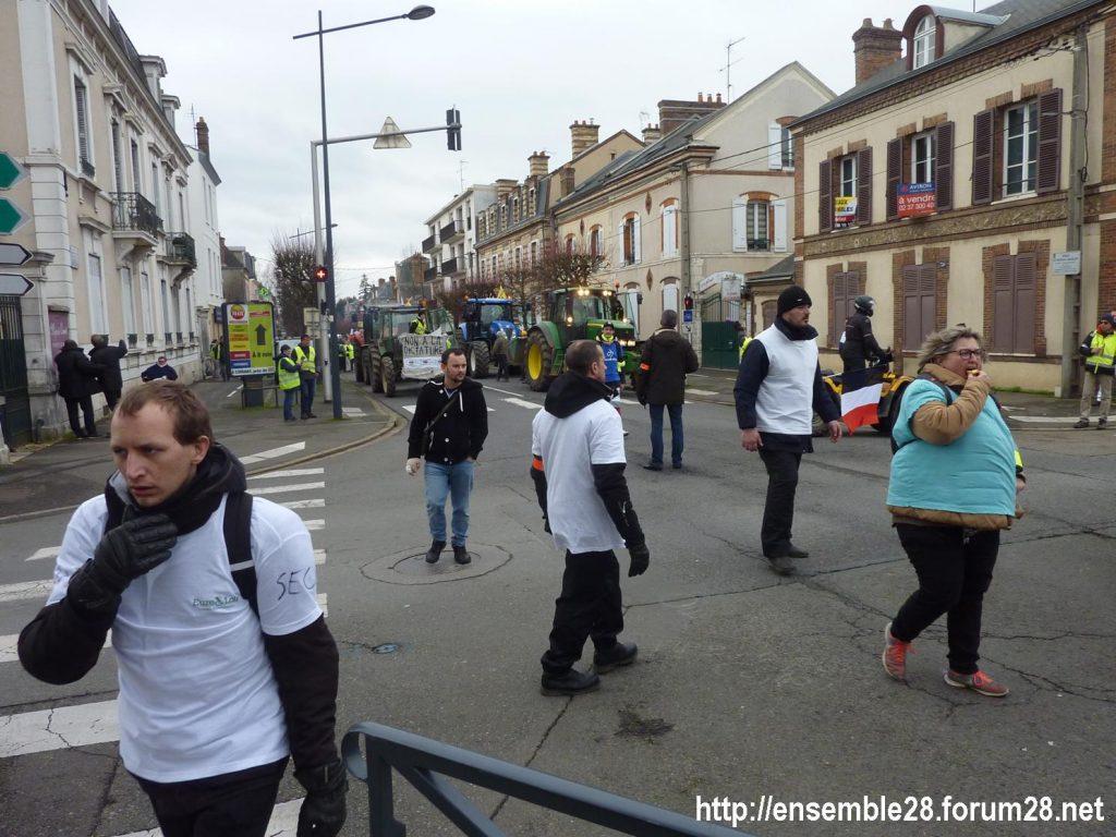 Chartres 12-01-2019 Manifestation Gilets-Jaunes 02
