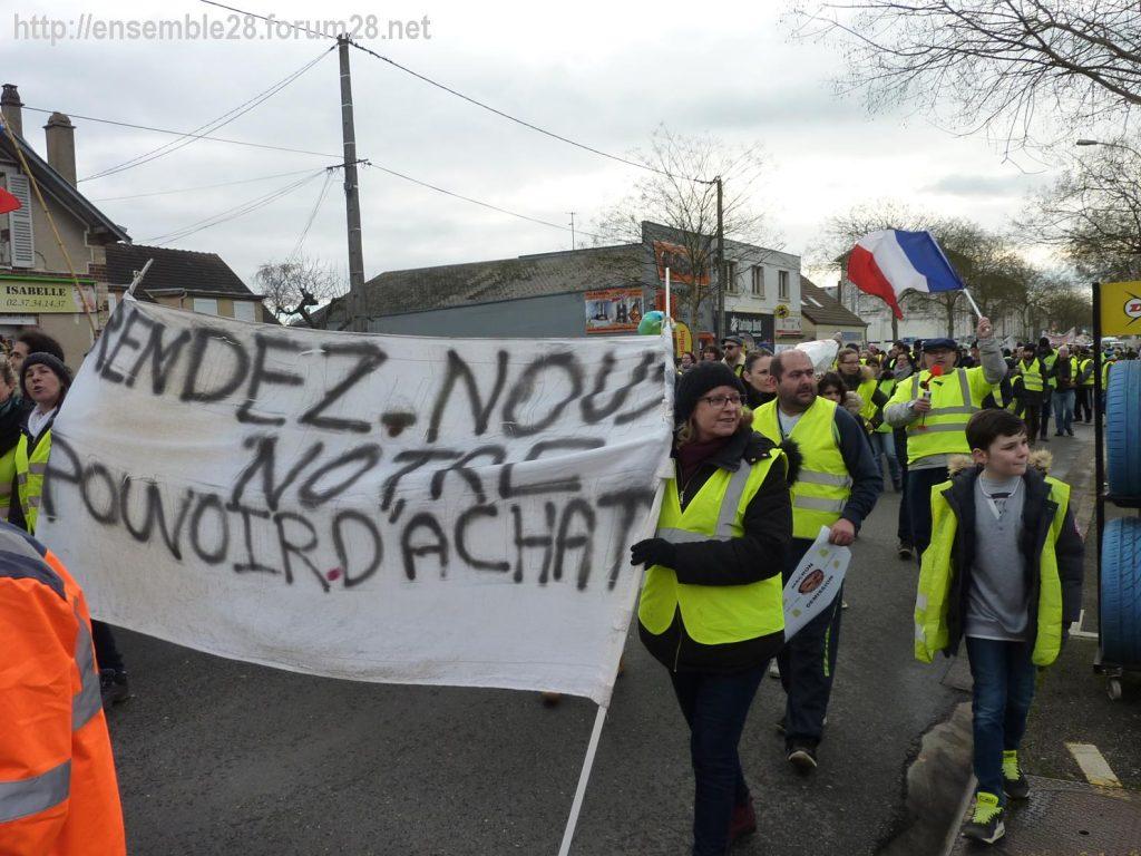 Chartres 12-01-2019 Manifestation Gilets-Jaunes 04