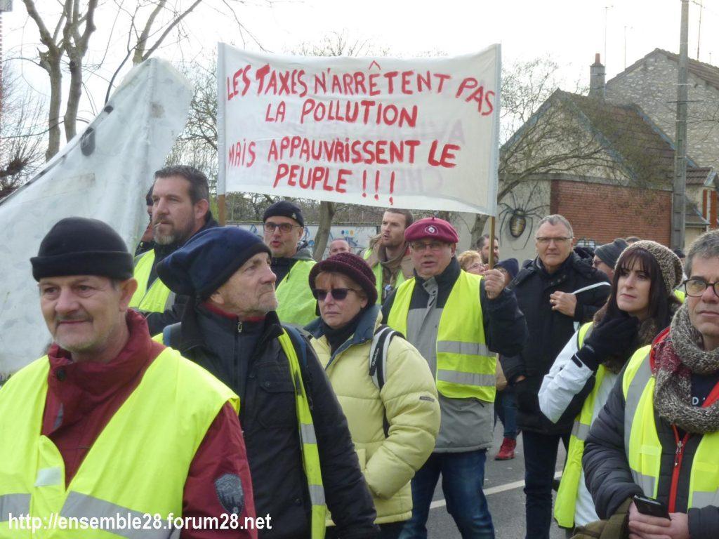 Chartres 12-01-2019 Manifestation Gilets-Jaunes 05
