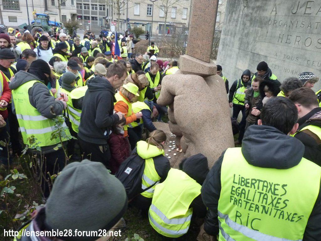 Chartres 12-01-2019 Manifestation Gilets-Jaunes 16