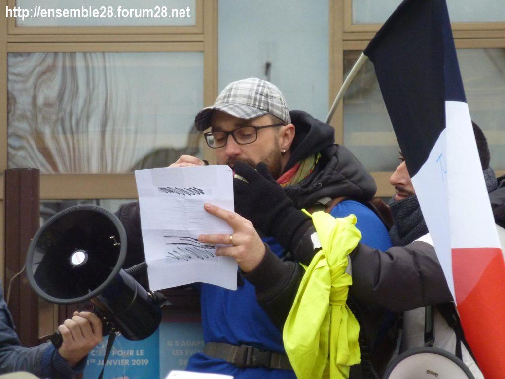 Chartres 12-01-2019 Manifestation Gilets-Jaunes 20