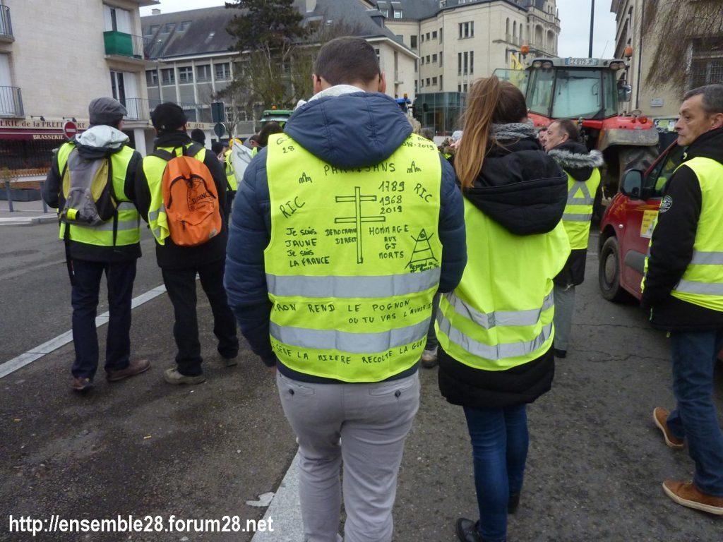 Chartres 12-01-2019 Manifestation Gilets-Jaunes 22