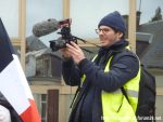Emmanuel Gras en tournage Gilets Jaunes à Chartres 12-01-2019 A