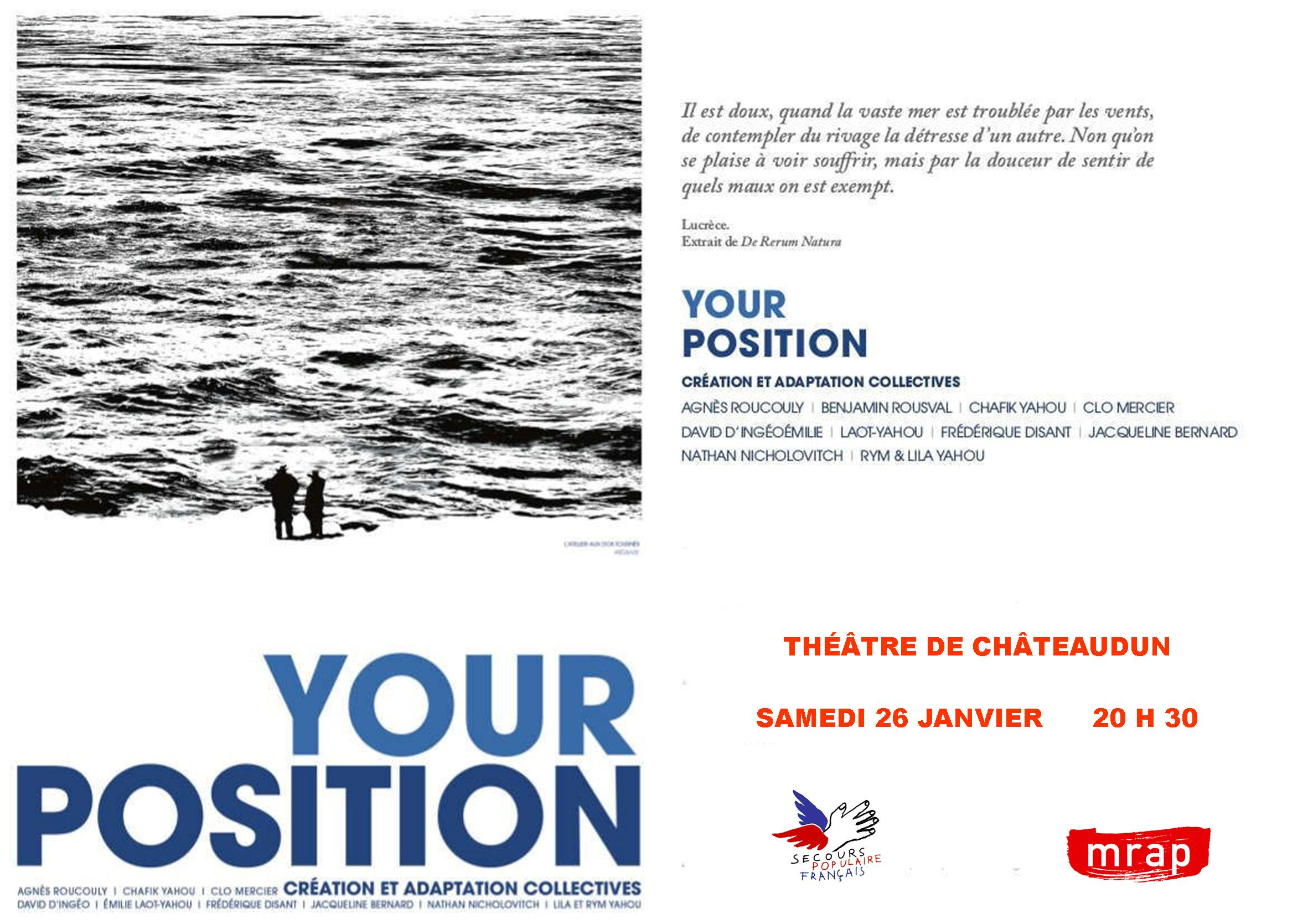 Your Position [Invitation Châteaudun]