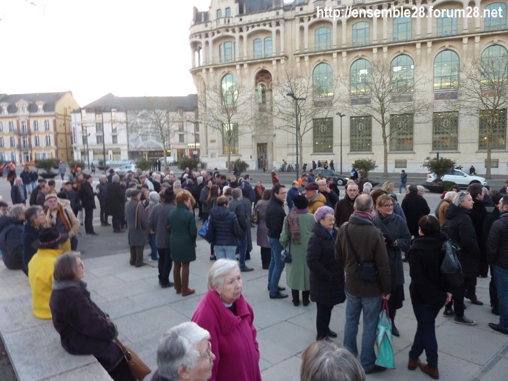 Chartres 19-02-2019 Manifestation contre l'Antisémitisme 002