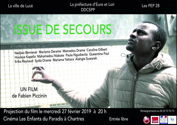 Issue de secours Projection CinéParadis 27-02-2019 [Visuel]