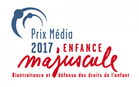 Logo Prix Média Enfances majuscules 2017