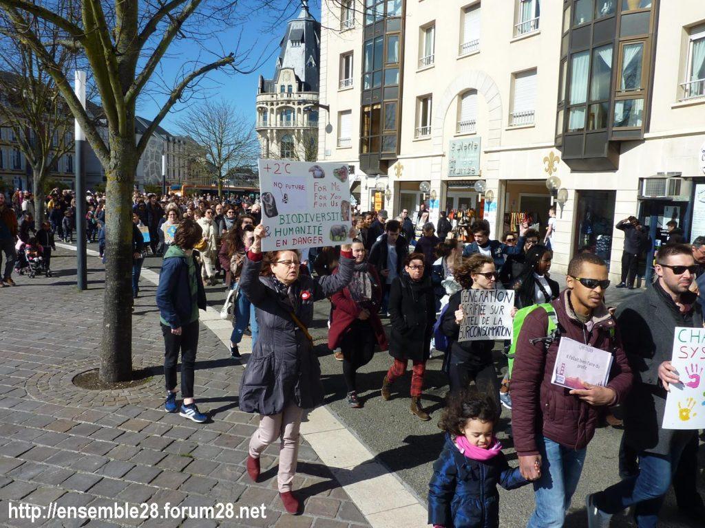 Chartres 16-03-2019 Marche du Siècle Climat 01
