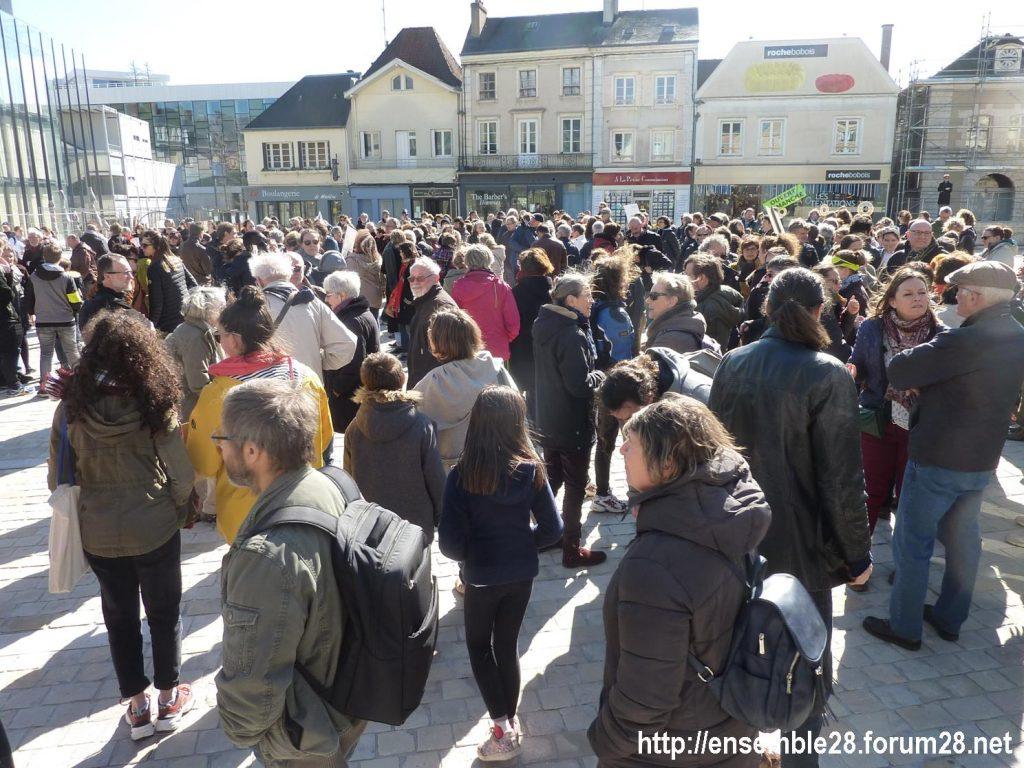 Chartres 16-03-2019 Marche du Siècle Climat 05