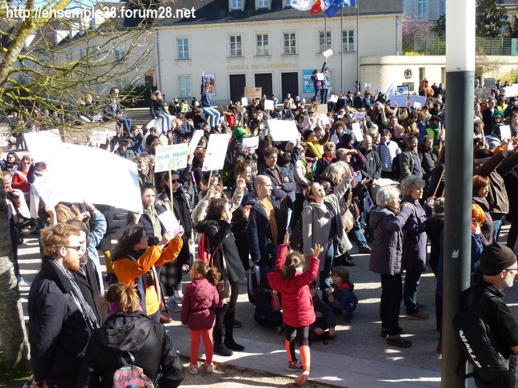 Chartres 16-03-2019 Marche du Siècle Climat 14