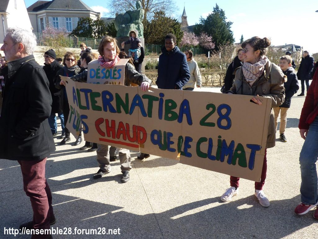 Chartres 16-03-2019 Marche du Siècle Climat 16
