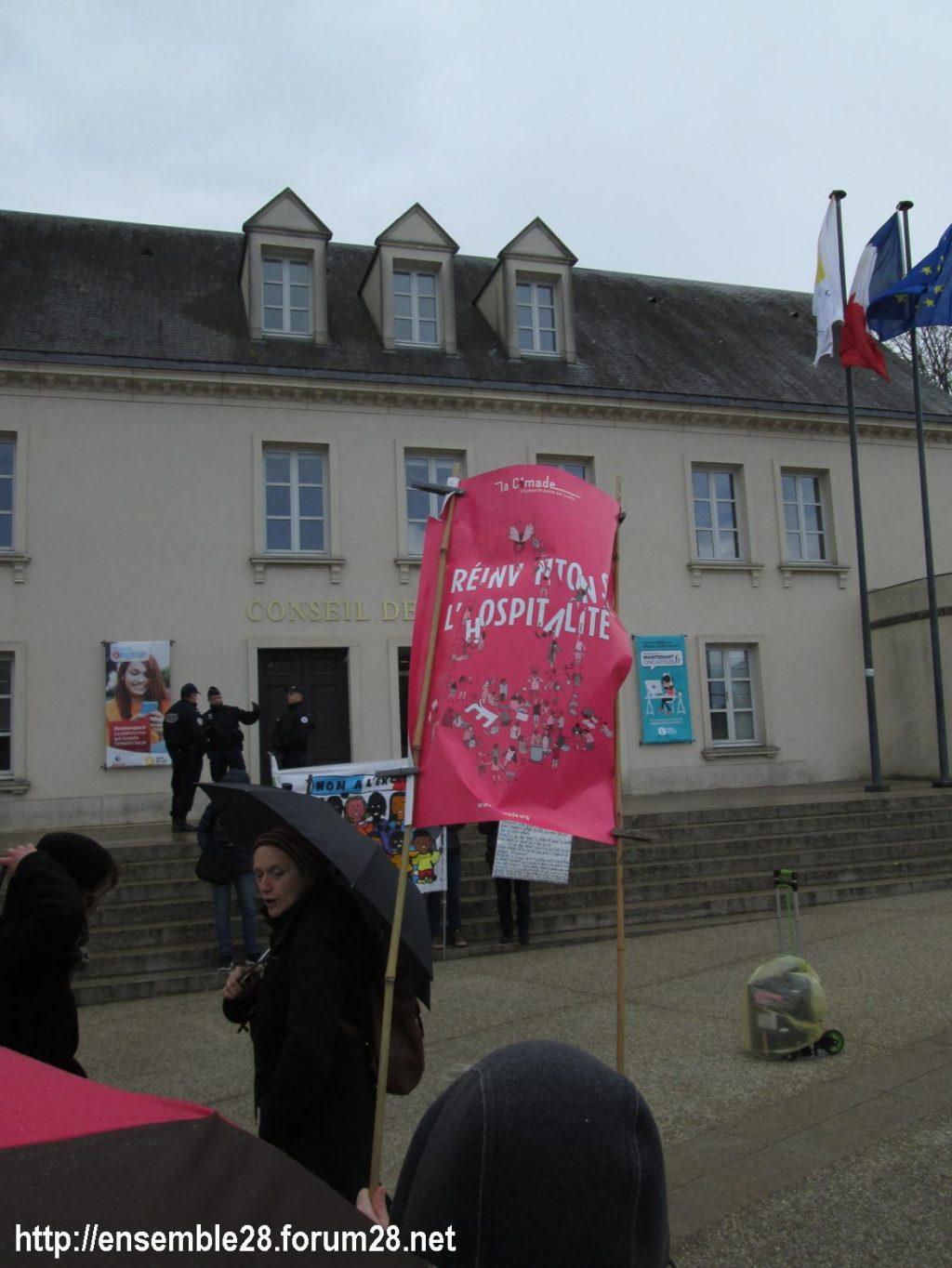 Chartres 03-04-2019 Manifestation AERéSP28 Mineurs-isolés-étrangers MIE MNA 04