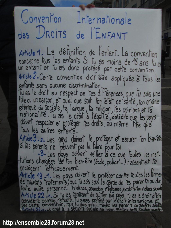 Chartres 03-04-2019 Manifestation AERéSP28 Mineurs-isolés-étrangers MIE MNA 07
