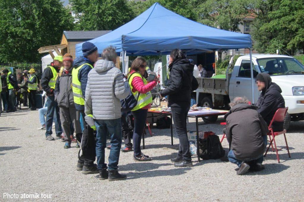 Atomik Tour au pique-nique des Gilets Jaunes de Savoie