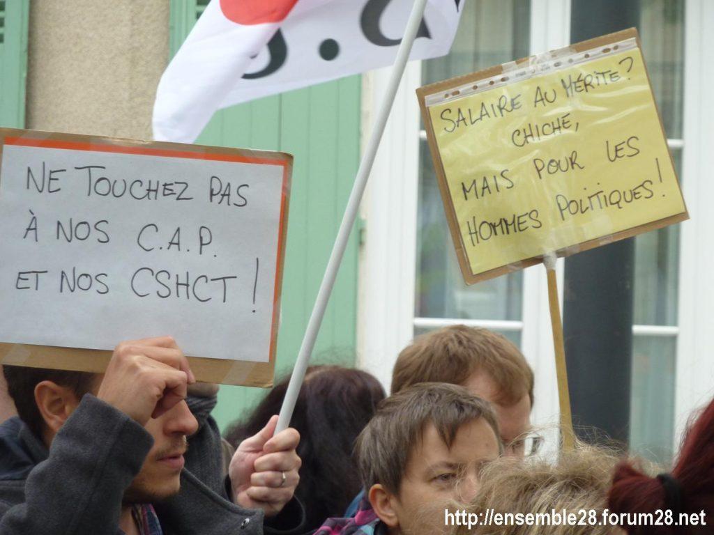 Chartres 09-05-2019 Manifestation Fonction-publique 03