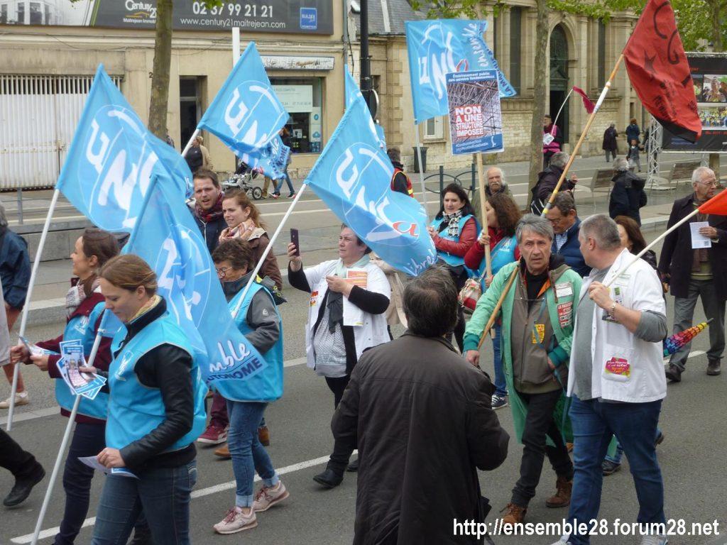 Chartres 09-05-2019 Manifestation Fonction-publique 07