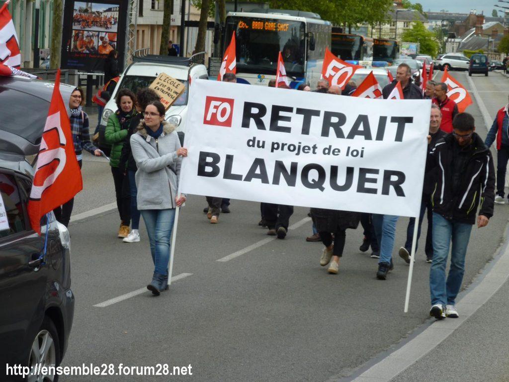 Chartres 09-05-2019 Manifestation Fonction-publique 09