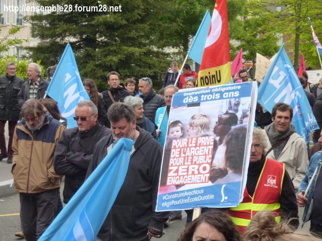 Chartres 09-05-2019 Manifestation Fonction-publique 12