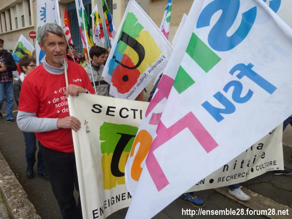 Chartres 09-05-2019 Manifestation Fonction-publique 13
