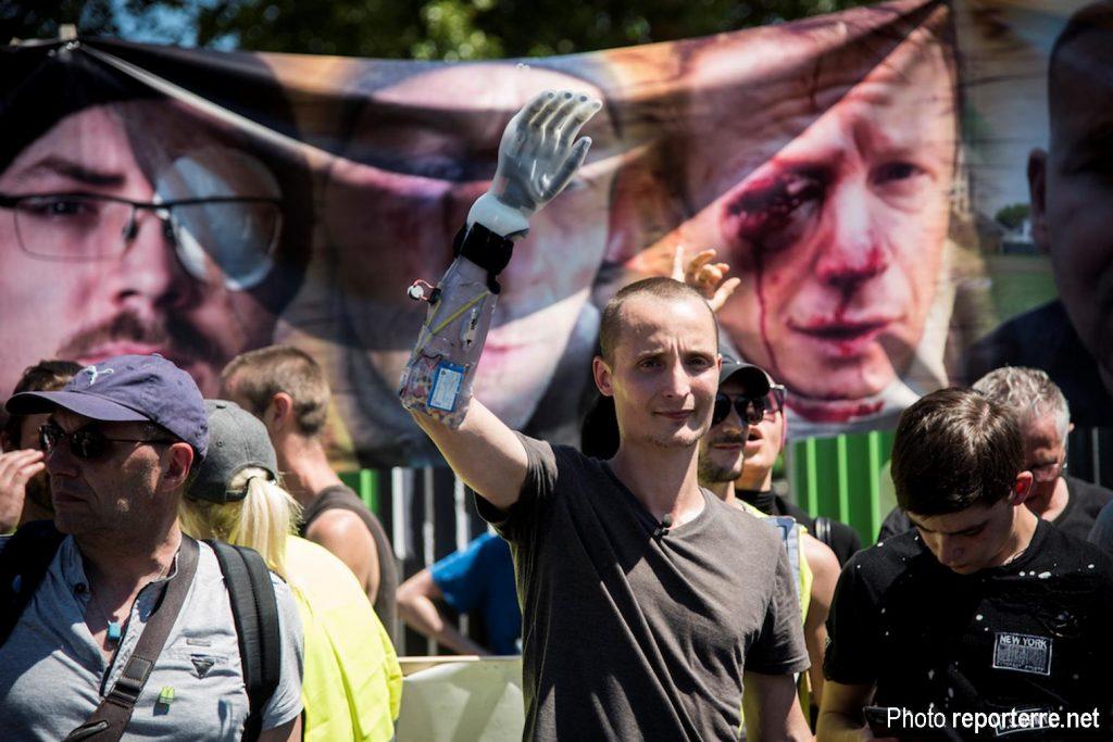 Paris 02-06-2019 Manifestation des mutilés Antoine