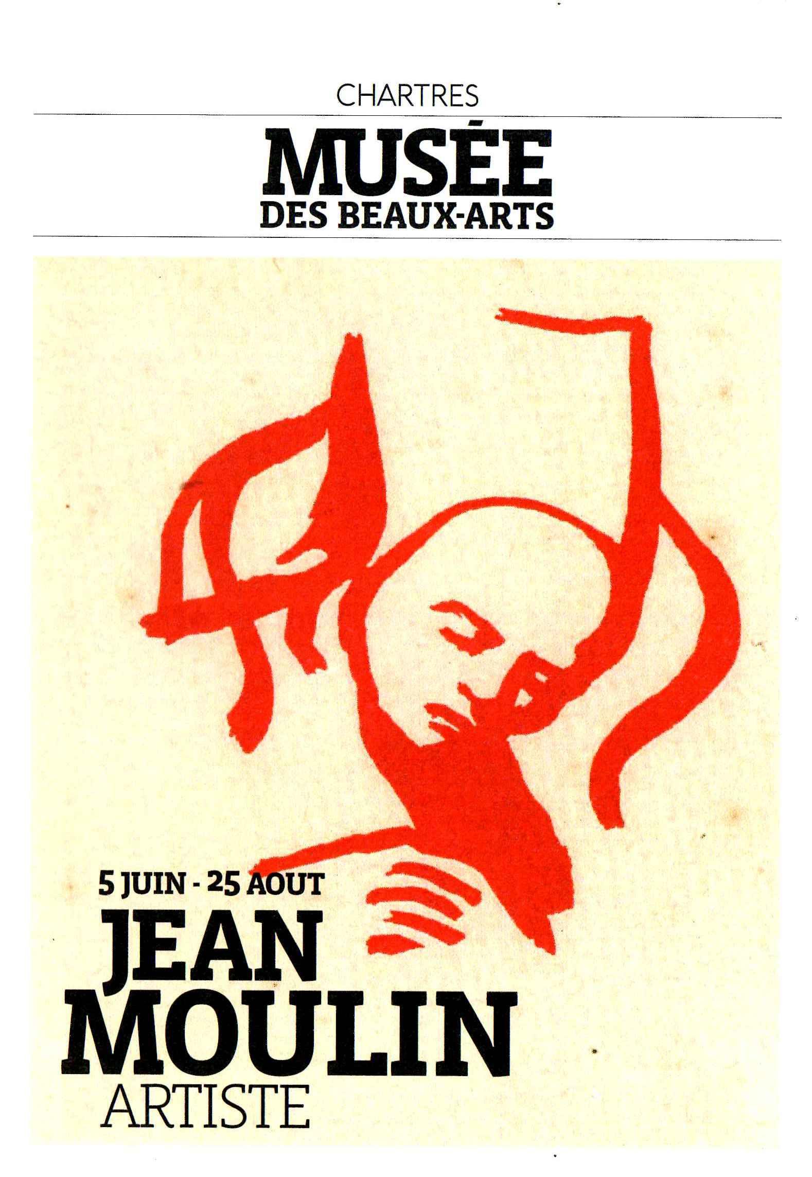Expo Jean Moulin Artiste [Affiche]