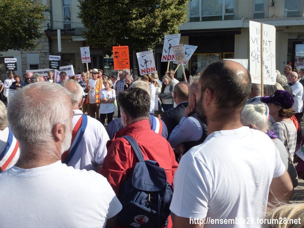 21-09-2019 Chartres Manifestation Anti-éoliennes industrielles 4