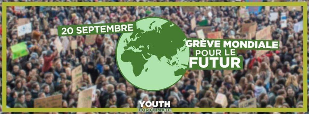 Grève mondiale pour le futur 20-09-2019 [Bandeau]