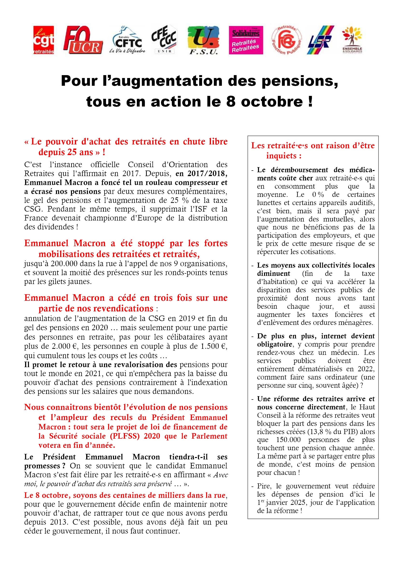 Retraités Tract action 8 octobre 2019 [Recto].pdf