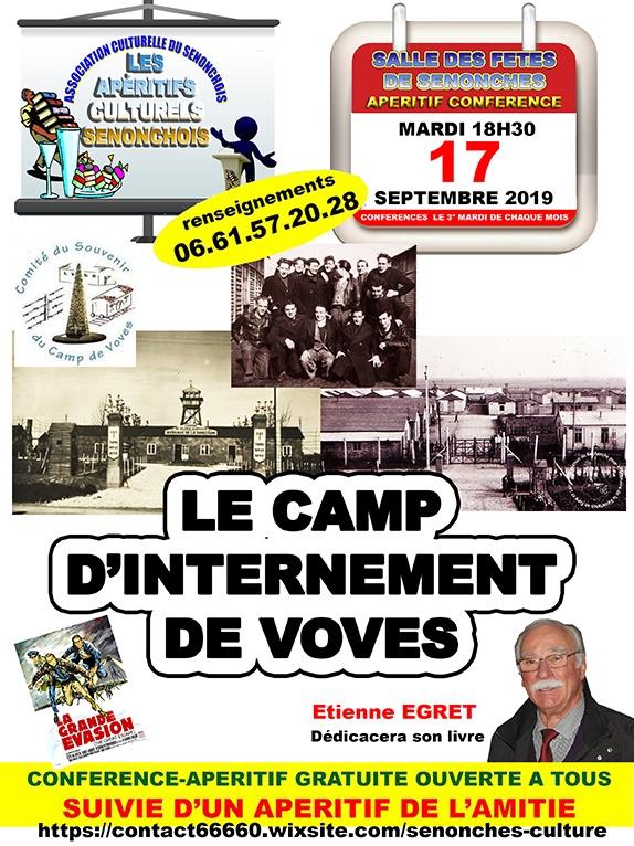 Senonches Conférence Camp de Voves-170919