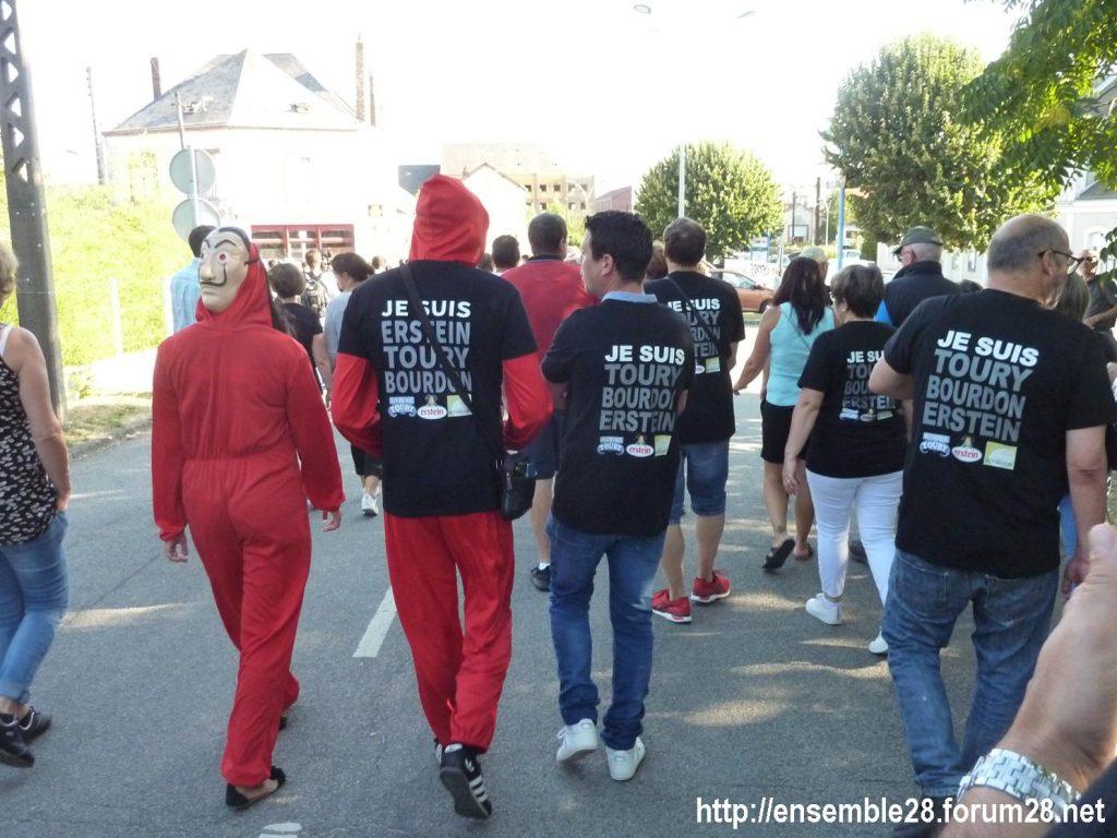 Toury 31-08-2019 Manifestation contre la fermeture de la sucrerie Cristal Union 07