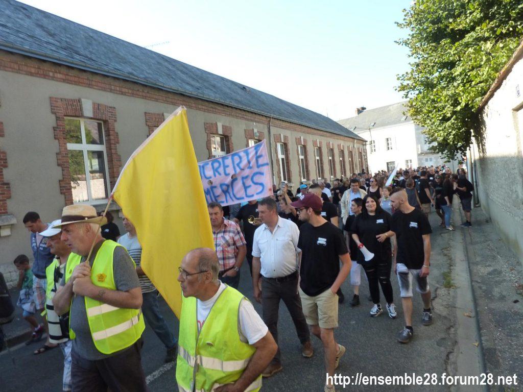 Toury 31-08-2019 Manifestation contre la fermeture de la sucrerie Cristal Union 08