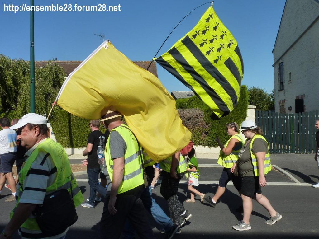 Toury 31-08-2019 Manifestation contre la fermeture de la sucrerie Cristal Union 15