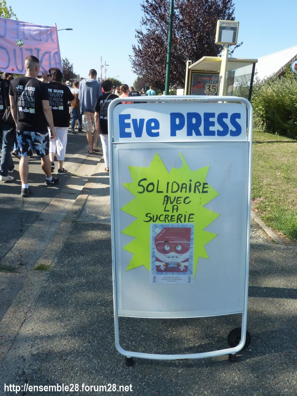 Toury 31-08-2019 Manifestation contre la fermeture de la sucrerie Cristal Union 16