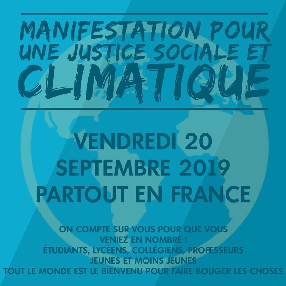 Youth for Climate Marche 20-09-2019 [Visuel carré]