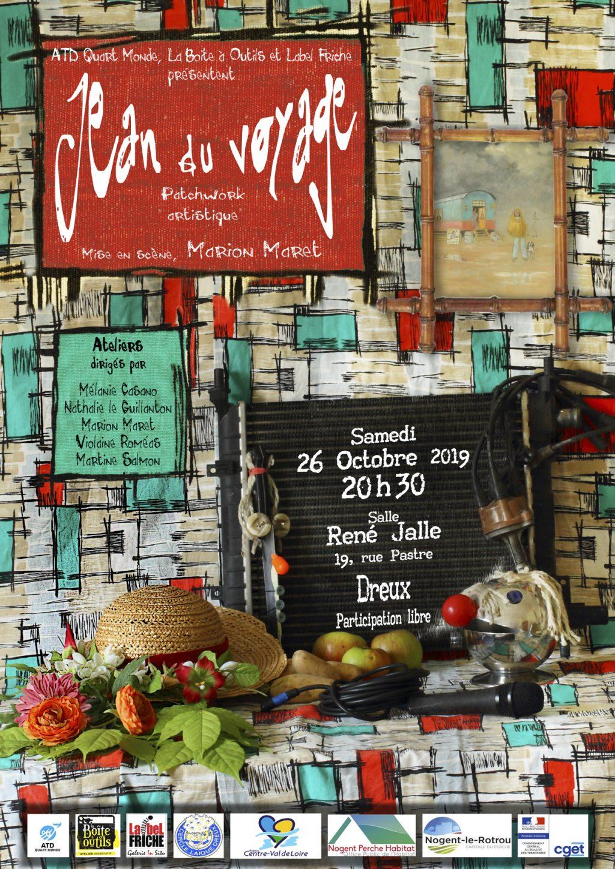 2019 10 26 flyer Jean voyage Dreux [Affiche]