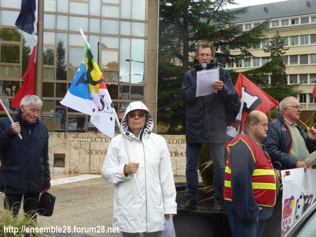Chartres 08-10-2019 Manifestation Retraités 06